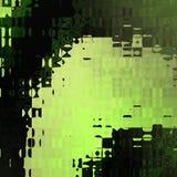 Linha curvy distorcida sumário imagem de stock