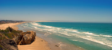 Linha da costa de Califórnia Fotografia de Stock Royalty Free