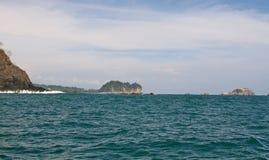 linha da costa de Costa-Rica Foto de Stock Royalty Free