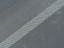 Linha da estrada Fotos de Stock