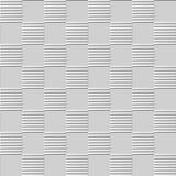 linha da geometria da cruz da verificação da arte do papel 3D Imagens de Stock