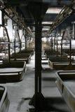 Linha da plataforma do transporte Fotografia de Stock