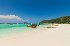 Linha da praia Fotos de Stock