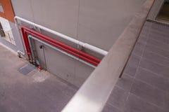 Linha da tubulação na parede Foto de Stock Royalty Free