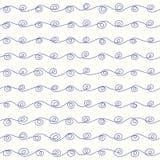 Linha das ondas em um fundo claro Imagens de Stock