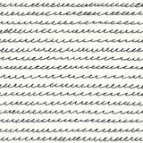 Linha das ondas em um fundo claro Imagem de Stock