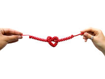 Linha de amor Imagem de Stock Royalty Free