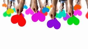 Linha de cores Imagem de Stock Royalty Free