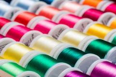 Linha de costura Imagem de Stock