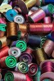 Linha de costura antiga Imagem de Stock