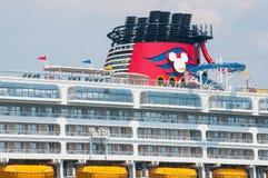 Linha de cruzeiros de Disney Imagens de Stock