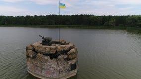 Linha de defesa de Kiev 1941-1945 2 video estoque