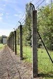 Linha de desaparecimento em Dachau foto de stock