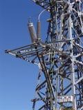 Linha de eletricidade do poder Imagem de Stock Royalty Free