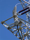 Linha de eletricidade do poder Fotografia de Stock Royalty Free