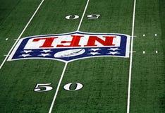 Linha de jardas do estádio 50 dos cowboys Fotos de Stock