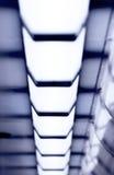 Linha de luzes Fotos de Stock