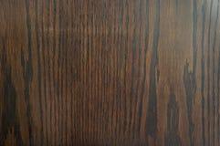 Linha de madeira de Brown Foto de Stock Royalty Free