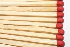Linha de matchsticks Imagens de Stock