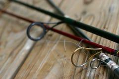 Linha de pesca close-up Foto de Stock