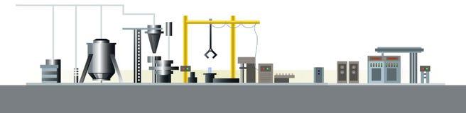 Linha de produção automática Fotografia de Stock