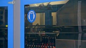 Linha de produção da fábrica Fabricação automatizada Maquinaria da fabricação vídeos de arquivo