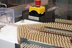 Linha de produção da insulina Liberação industrial da insulina nos cartuchos Cartucho da insulina para diabéticos Cartucho 3 ml d Imagem de Stock Royalty Free