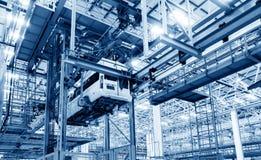 Linha de produção do automóvel Imagem de Stock
