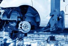 Linha de produção do automóvel Imagens de Stock