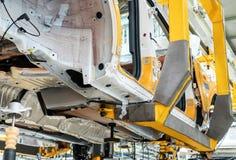 Linha de produção do automóvel Fotografia de Stock
