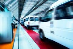 Linha de produção do automóvel Fotos de Stock Royalty Free