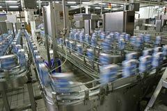 Linha de produção na fábrica fotografia de stock