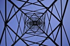 Linha de transmissão Imagem de Stock