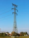 Linha de transmissão elétrica Imagens de Stock