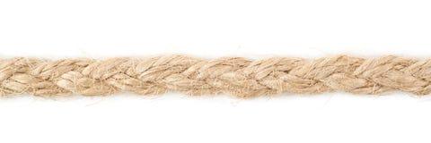 Linha de uma corda de linho da corda Fotografia de Stock Royalty Free