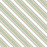 Linha diagonal teste padrão sem emenda, branco moderno da listra ilustração royalty free