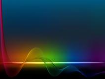 Linha do arco-íris Fotografia de Stock Royalty Free