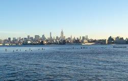 Linha do céu de New York Imagem de Stock Royalty Free