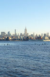 Linha do céu de New York Fotos de Stock