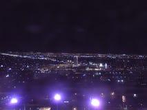 Linha do céu de Vegas Fotografia de Stock