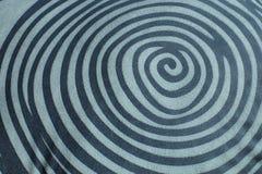 Linha do círculo para a textura Fotografia de Stock Royalty Free