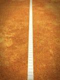 Linha do campo de tênis (293) Foto de Stock Royalty Free