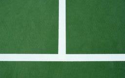 Linha do centro da corte de tênis Imagem de Stock