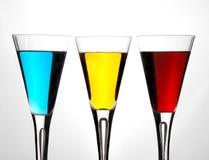 Linha do cocktail imagem de stock royalty free