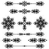 Linha do Ornamental da decoração da barra Imagem de Stock Royalty Free