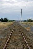 Linha do país Fotografia de Stock