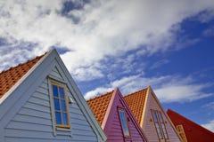 Linha do telhado Foto de Stock Royalty Free