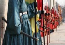 Linha dos guerreiros 2 Fotos de Stock Royalty Free