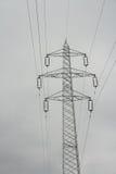 Linha eléctrica Fotografia de Stock