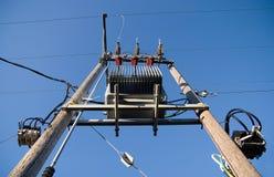 Linha eléctrica Fotos de Stock